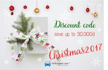 Discount code from Dichungtaxi in Christmas 2017