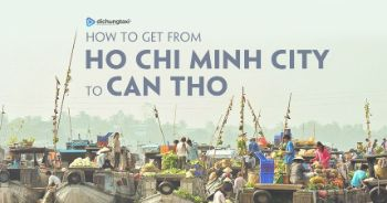 how to get to can tho from ho chi minh