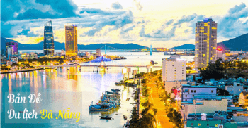 Da Nang Tourist Map 2017