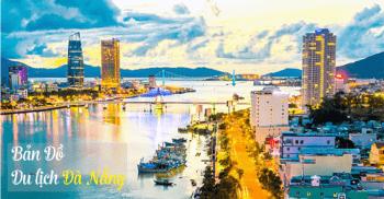 Da Nang Tourist Map 2017