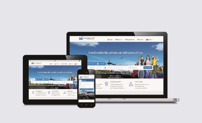 Screen Website Dichung