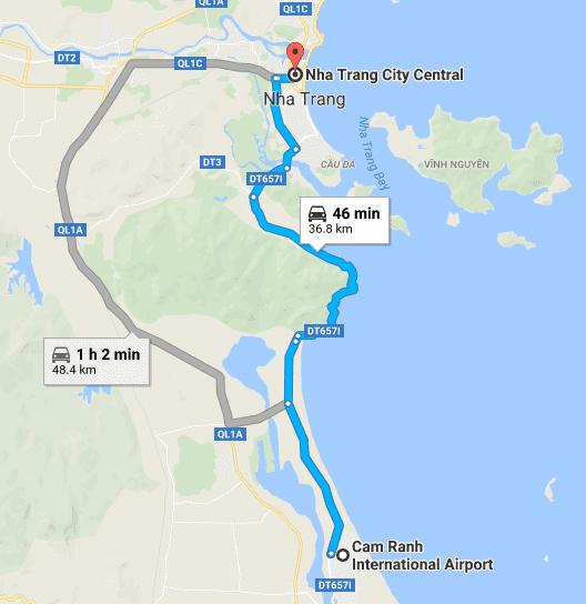 Sân bay Nha Trang (Cam Ranh) ở đâu