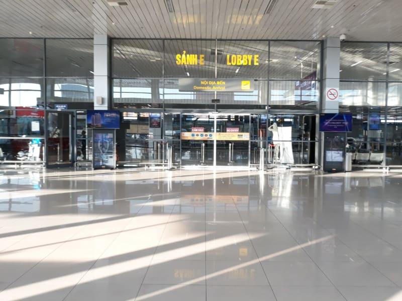 Domestic arrival Noibai airport hall E