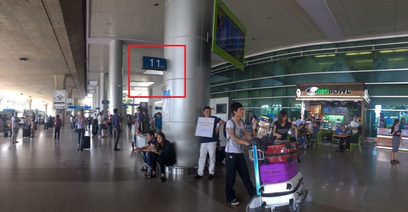 Tansonnhat airport pickup point