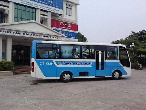 Shuttle Bus Phu Cat Airport