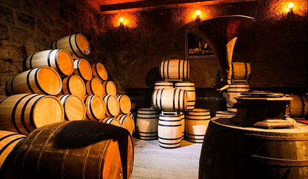 French Wine Cellar