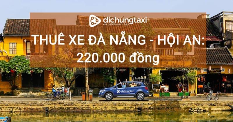 thuê xe Đà Nẵng Hội An
