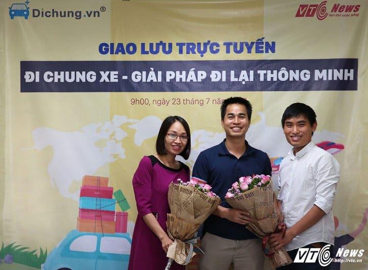 CEO Đi Chung tham gia giao lưu trực tuyến