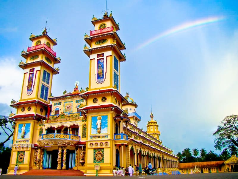 The Cao Dai Temple