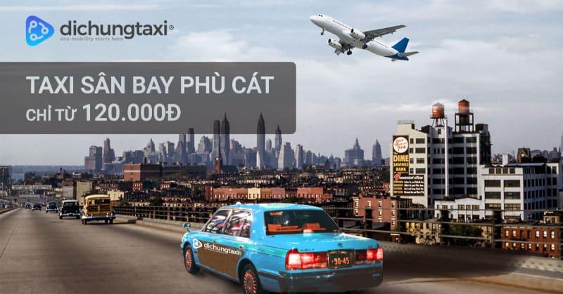 Taxi sân bay Phù Cát