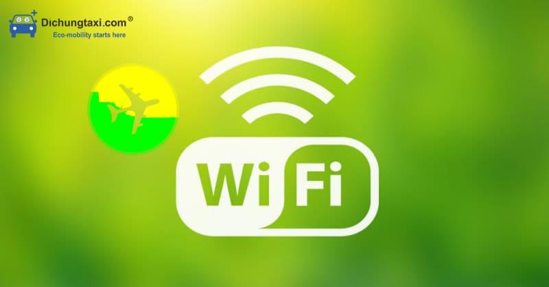 mật khẩu wifi các sân bay